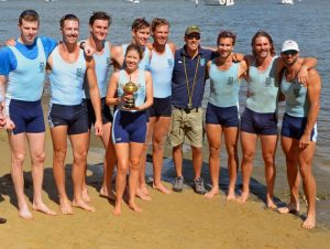 SRC Gold Cup 8+ with Coach
